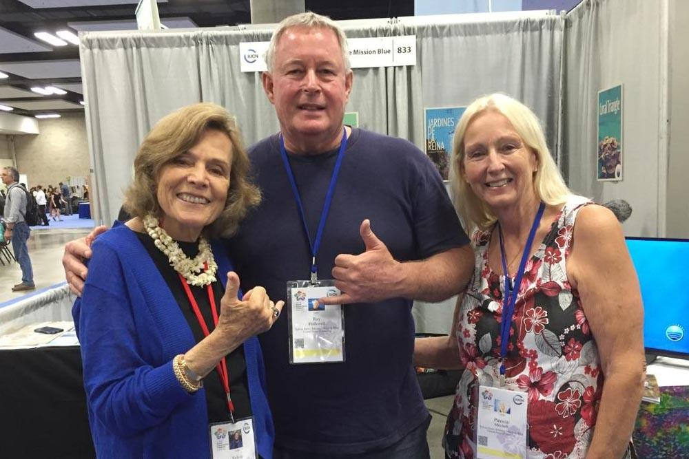 Sylvia Earle, Ray and Patti